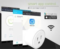Wifi intelligente Steckdose Timer Steckdose Outlet Smart Remote Wireless Sprachsteuerung US-Stecker 110-240V 10A Unterstützung Alexa Echo Google Home IFTTT