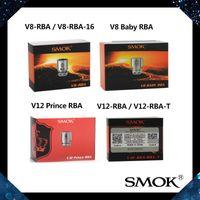 SMOK V12-RBA / RBA-T V8 Bebek RBA Bobin V12 Prens RBA Çekirdek V8-RBA / RBA-16 Bobinler TFV8 Bebek TFV12 Prens Tankı 100% Orijinal