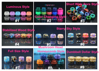9 Types 2018 Newest TFV8 Resin Drip Tip 810 Mouthpiece Lumin...