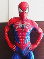All New Spider Man Cosplay Costume 3D Spandex Spiderman Zent...
