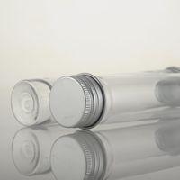 Test 65ml maschera trasparente sale bagno tubo PET con tappo alluminio 65cc cancellare Tubo cosmetico plastica veloce F365 trasporto