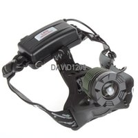 Free shipping 1800 Lumen CREE XM-L XML T6 LED 18650 Adjustable Zoomable Headlamp Head Torch Light