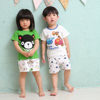 Unisex Baby Clothes Sets Printed T- shirt Pants Summer Clothi...
