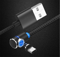HOT NEW 1M Magnet adsorption Braided USB Micro Charger durab...
