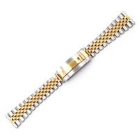 CARLYWET 20 22mm Top de alta calidad al por mayor Glide Lock Reemplazo de reloj de pulsera Banda Correa de pulsera