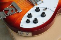 Model 360 12 telli yarı boş elektro gitar günbatımı renkleri