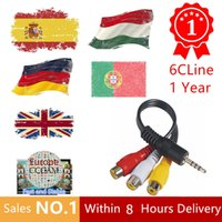 1 Year CCcam Europe 4 Clines Server HD 12 Months account for...