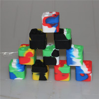 silicone square bho oil case Slick stack 7ml container silic...