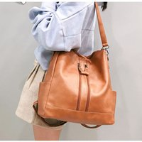 New Style Fashion PU Leather Casual Backpack Girls Student S...