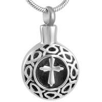 Wholesale Cremation Urn Pendant Necklace Stainless Steel hum...