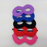 63c01e4bdcb8 8 Photos Wholesale half weave - Non Woven Fabric Face Mask DIY Hand Sewing  Soft Masquerade Masks For