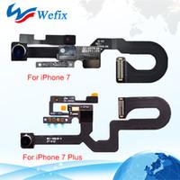 Yüksek Kaliteli Ön Bakan Kamera Yakınlık Işık Sensörü Flex Şerit Kablo iphone 7 7 Artı