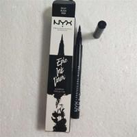 Dropshipping NYX Epic Ink Liner nyx Crayon pour les yeux noir Maquillage de tête liquide Noir Couleur eye liner waterproof Cosmetics Long Lasting