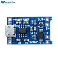 5PCS Tablero del módulo del litio del USB 5V 1A 18650 TP4056 con la protección automática