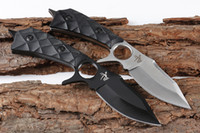 Promotion 2 Blades Style Survival Straight Knife 440C Drop P...