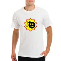 Serious Sam game logo, gamers fps shooter game bomb white t-...