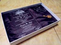 Klare Einladungskarte, Acryl Hochzeitseinladungskarte, Hochzeitseinladungen, Hochzeitseinladungen, Acryl Einladungskarte (165 mm x 114 mm x 2 mm)