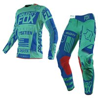 Racing 360 Maillot + Pantalon Montagne Dirt Bike Combi Kits VTT VTT VTT MX MX + Pantalon VTT Ensemble de J