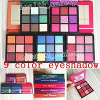 Newest makeup Beauty Eyeshadow Palette 9 colors Sapphire Rub...