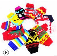 Chat Chien Costumes Tricotés Costumes D'hiver Chaud Chiot Chaton Laine Vêtements Chien Teddy Vêtements