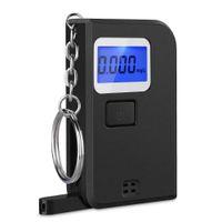 Breath Alcohol Tester portatile portachiavi mini Keychain Digital Etilometro con display LCD per una guida bevitori di sicurezza del driver