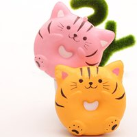 Jumbo 10CM Squishy Kawaii Cat Kitty Donuts Slow Rising Cute ...