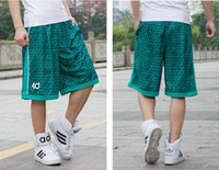 NEW 2018 Outdoor Sommer lose Sport Laufen lose Basketball Shorts Männer Hip Hop KD Marke kurze Hosen