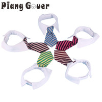 Pet Dog Striped Tie collar S L Fashion Pet Dog Tie Vintage S...
