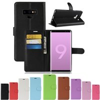 For Note 9 Note9 Leather Wallet Case 9 colors Phone Cover Wi...