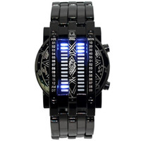 Fashion Electronic Watch Luxury Iron Man Conception Blue LED...