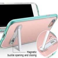 SGP Spigen Crystal Hybrid TPU PC con custodia Cover per iPhone X 6 7 8 Plus Samsung S8 Plus Nota 8