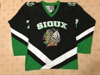 Vintage NORTH DAKOTA FIGHTING SIOUX  7 TJ OSHIE 9 JONATHAN TOEWS Hockey  Jersey Embroidery Stitched Customize any number and name Jerseys bde9099cf