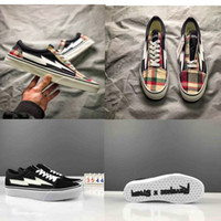 New Right Revenge x Storm Old Skool Black Red Yellow Casual ...