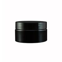 30pcs 100g nero bottiglie riutilizzabili viaggio crema viso vasetto 100cc contenitore cosmetico contenitore di plastica vuoto campione pentola di trucco