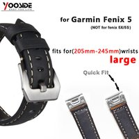 Genuine Leather Strap Replacement large Watch Band with Quic...