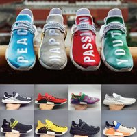 2018 Human Race mens shoes nerd holi Peace Passion Happy You...