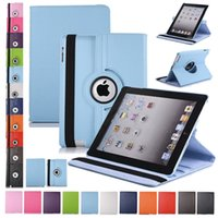 Litchi 360 Rotating Flip PU Leather Smart Stand Case For New...