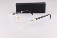 Classical 374 commerciali senza montatura uomini quadrato struttura di vetro per occhiali da vista con originali OME imballaggio factory outlet di marca