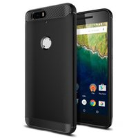 Google Nexus 6 P Rugged Original Spigen TPU armor smooth res...