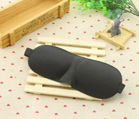 3D Sleep Mask Natural Sleeping Eye Mask Eyeshade Copertura Ombra Patch Occhio Blindfold Benda Da Viaggio 6 colori KKA1465