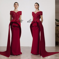 Azzi&Osta Fashion burgundy Evening Gowns Beading Appliques O...