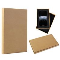 5 Stück Einzelhandel High Class Luxus Hartpapierverpackungen Box benutzerdefinierte Paket für Telefon-Kasten für iPhone X 8 Plus Papier Geschenk-Box