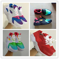 2018 Hot Huarache Running Shoes Huaraches Rainbow Ultra Brea...