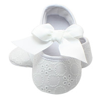 Christening Pre- walker Shoes First Walkers Pink Bowknot Baby...