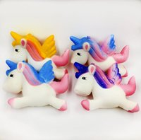 Hot Multicolor Suave Squishy Unicornio Healing Squeeze Funny Kids Toy Stress Reliever Decor Envío Gratis