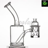 Banger Cabide de quartzo com 25mm Flat Top BangerExtra Grossa Inferior Hot Set com Quartz Carb Cap 2 Contas De Quartzo
