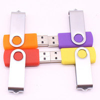 Q310 Rotating Clip USB Flash Drives 10 Color USB Disk Pendri...