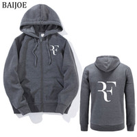 2017 autumn Hoodies Men Fashion roger federer hooded Perfect...