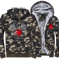 wholesale 2018 New Fashion casual Hoodies Mens Winter Thick ...