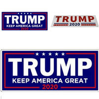 Donald Sticker Trump 2020 Adesivi per auto Paraurti Paster Keep Make America Grande decalcomania per Car Styling Vehicle Paster T5I124